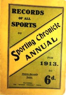 A Handbook of Records for every branch of Sport. Thirty-Seventh Issue. Compiled and Collected by ...