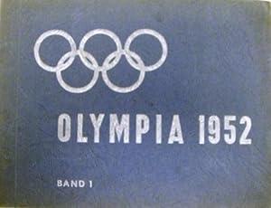 Die Olympischen Spiele 1952 in Oslo und Helsinki. BAND 1, Sammelbilderalbum. Komplett mit 216 ...