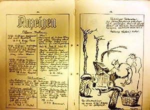 Festzeitung zum Herrenabend im Brauergildehaus am 27.Februar 1928.: Hannover) MOTOR SPORT CLUB ...