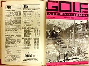 """Sammlung von 6 Ausgaben der Zeitschrift """"Bahnen Golf Sport International"""" und 6 ..."""