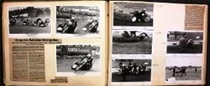Fotoalbum mit ca 120 eingeklebten Fotos und vielen Zeitungsausschnitten von den Erfolgen der Br&...