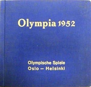 Olympia 1952, 2. Band. Die Olympischen Spiele 1952. Sammelbilderalbum mit 56 tlw. farbigen ...