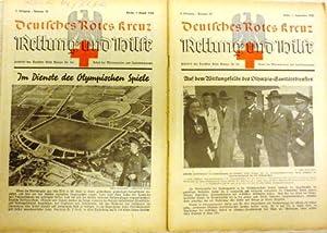 Zeitschrift des DRK für die Arbeit der Männervereine und Sanitätskolonnen. Hier: 2 ...