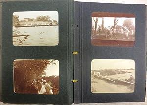 Mit 42 Originalphotographien aus dem Jahre 1912.: (Privates) FOTOALBUM: