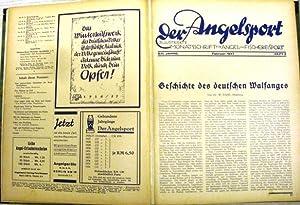Illustrierte Monatsschrift für Angel- und Fischereisport. Kompletter Jahrgang (Nrn 1-12).: DER...