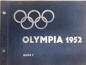 Die Olympischen Spiele 1952 in Oslo und Helsinki BAND 1, Sammelbilderalbum.: (Olympiade 1952) ...