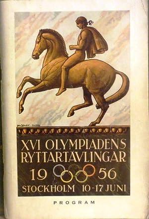 XVI Olympiadens Ryttartävlingar - Jeux Equestres de la XVI° Olympiade - Exquestrian Games ...