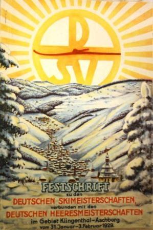 Festschrift für die Deutschen Skimeisterschaftten 1929 verbunden mit Deutscher ...