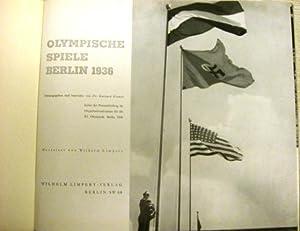 Olympische Spiele Berlin 1936. Gestaltet von Wilhelm Limpert: Olympiade 1936) Krause, Gerhard (...