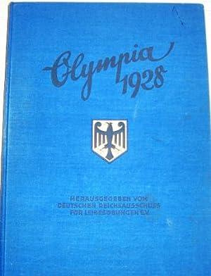 Die Olympischen Spiele in Amsterdam 1928. Dem deutschen Sport gewidmet von der Reemtsma-A.G. ...