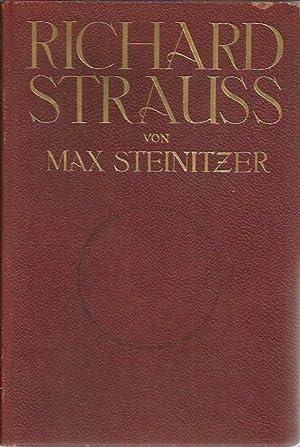 RICHARD STRAUSS: STEINITZER, MAX
