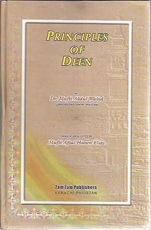 Principles of Deen: 'Abdulvahid