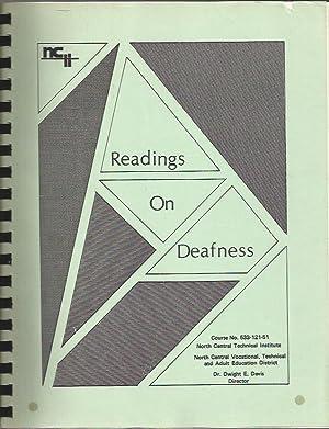 Readings on Deafness: Nancy Hagen