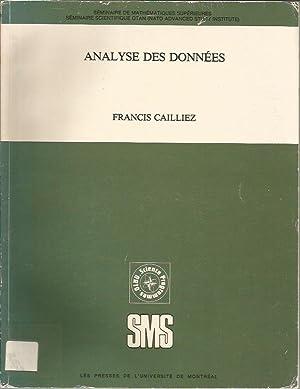 Analyse Des Donnees (Seminaire De Mathematiques Superieures, No 87) (French Edition): Francis ...