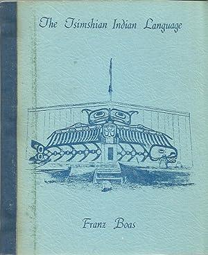 Tsimshian Indian Language: Boas, Franz