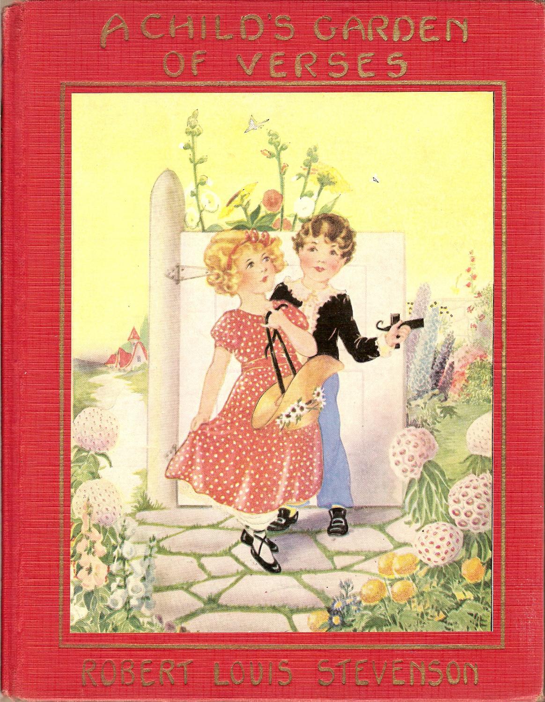 A Child 39 S Garden Of Verses By Stevenson Robert Louis Platt Munk Hardcover Harvey C Loveless