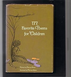177 Favorite Poems for Children: Horan, Patricia-editor