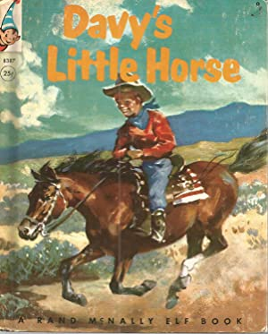 Elf Book-Davy's Little Horse: Devine, Louise Lawrence;