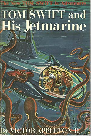 Tom Swift Jr.-Tom Swift and his Jetmarine-#2 Picture cover edition