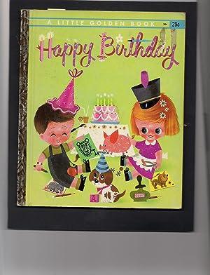 Little Golden Book-Happy Birthday-uncut: Nast, Elsa Ruth