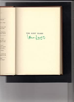 The Lost Years-A Biographical Fantasy: Lewis, Oscar