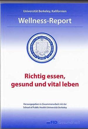 Richtig essen, gesund und vital leben : Korf, Antje [Hrsg.],