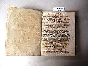 Dissertationes ad Jus Publicum Romano-Ecclesiasticum, Statum Romanae: Bessel, Johannes Franciscus.