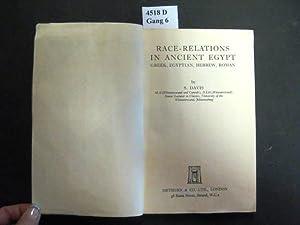 Race-Relations in Ancient Egypt. Greek, Egyptian, Hebrew,: Davis, S.