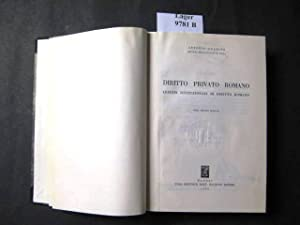 Diritto Privato Romano. Lezioni Istituzionali Di Diritto Romano.: Guarino, Antonio.