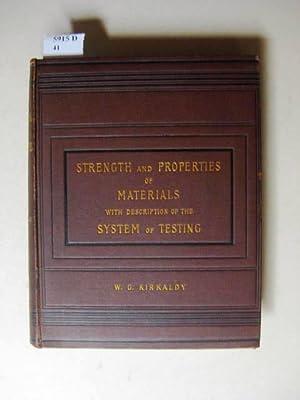 Illustrations of David Kirkaldy's System of Mechanical: Kirkaldy, William G.