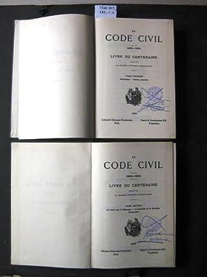 Le Code Civil. 1804-1904. Livre du Centenaire,: Le Société d'Études