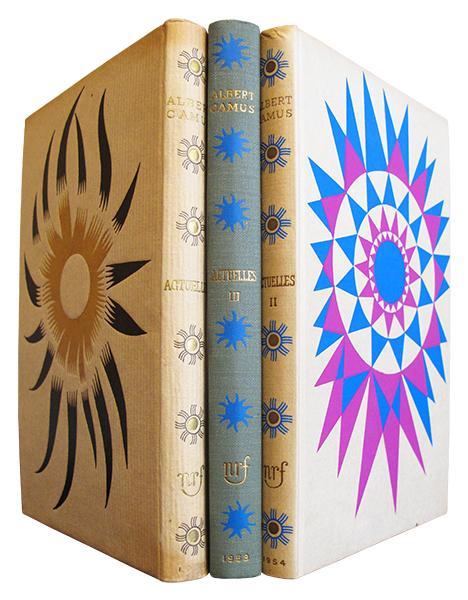 Actuelles. Chroniques 1944 - 1948 - Actuelles II. Chroniques 1948-1953 - Actuelles III. Chronique algérienne 1939-1958. CAMUS (Albert) Hardcover