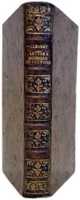 1- CLEMENT (Jean-Marie-Bernard). Septième lettre à Monsieur: CLEMENT (Jean-Marie-Bernard), MERCIER