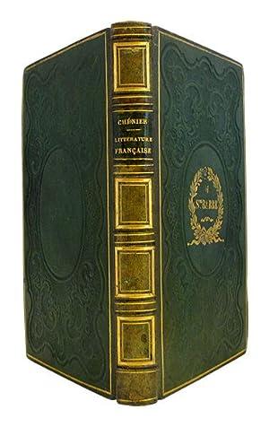 Tableau historique de l'état et des progrès de la littérature française, depuis 1789. by CHENIER ...