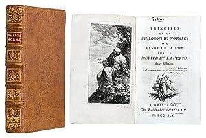 Principes de la philosophie morale ; ou: DIDEROT (Denis), SHAFTESBURY