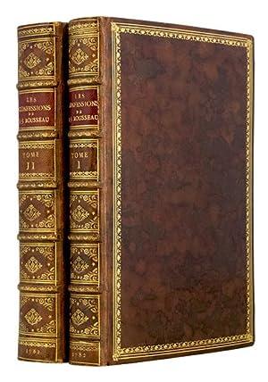 Les Confessions de J.J. Rousseau, Suivies des: ROUSSEAU (Jean-Jacques)