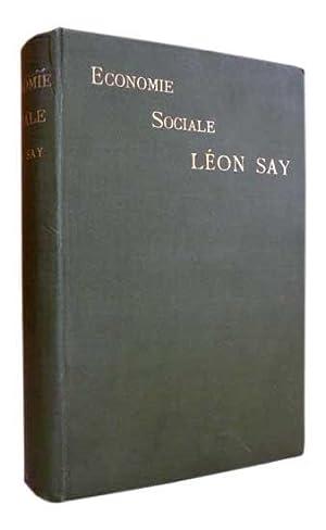 Economie sociale. Exposition Universelle de 1889 -: SAY (Léon)