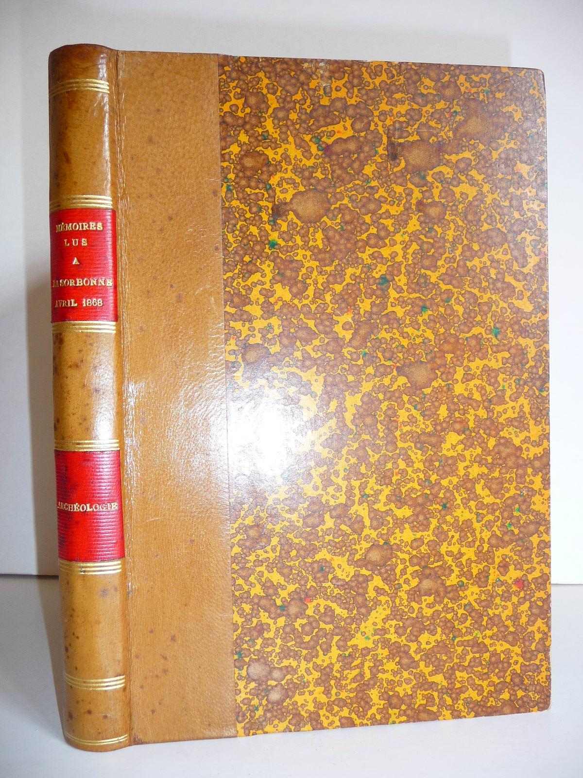 Mémoires lus à la Sorbonne dans les  COLLECTIF 0e75157ceb3a