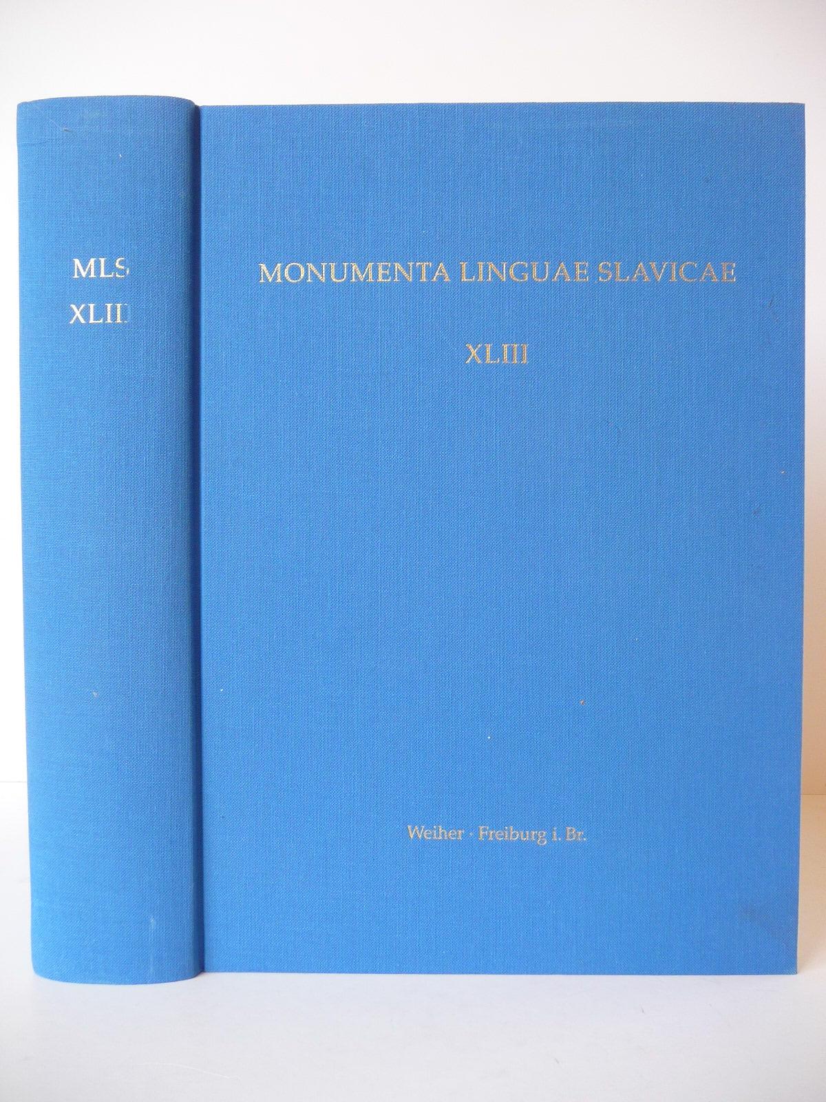 Kommentiertes Wort- und Formenverzeichnis des altkirchenslavischen Codex: KOCH (Christoph)