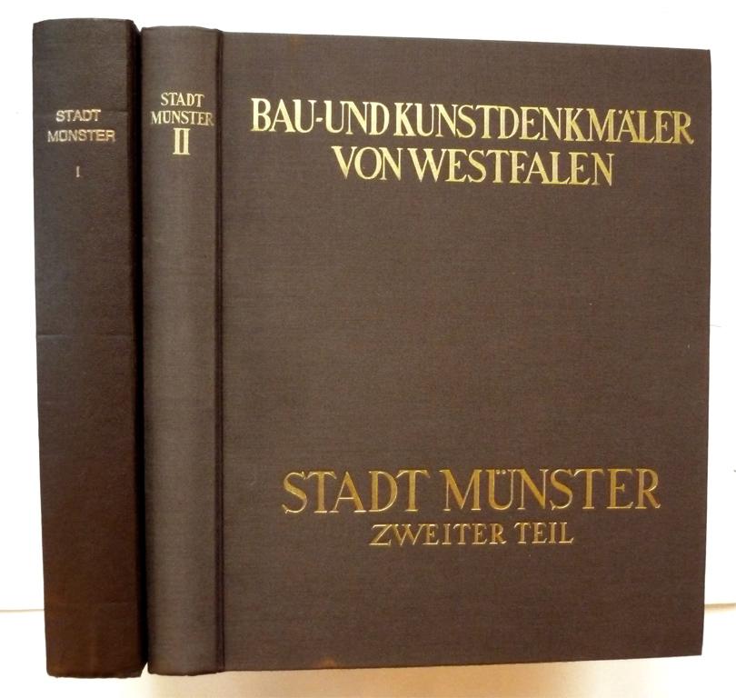 Die Stadt Munster 41 Band Erster GEISBERG Max Bearb