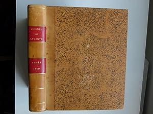 Journal des savants. Année 1860: JOURNAL DES SAVANTS]