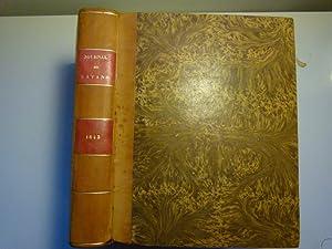 Journal des savants. Année 1843: JOURNAL DES SAVANTS]