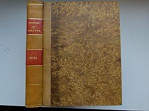 Journal des savants. Année 1838: JOURNAL DES SAVANTS]