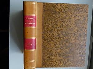 Journal des savants. Année 1862: JOURNAL DES SAVANTS]