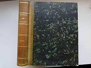 Journal des savants. Année 1839: JOURNAL DES SAVANTS]