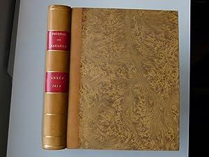 Journal des savants. Année 1852: JOURNAL DES SAVANTS]