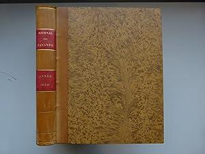 Journal des savants. Année 1830: JOURNAL DES SAVANTS]