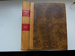 Journal des savants. Année 1840: JOURNAL DES SAVANTS]