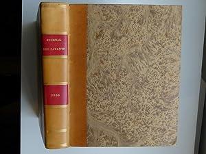 Journal des savants. Année 1866: JOURNAL DES SAVANTS]