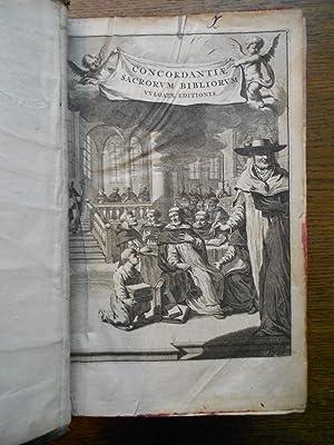 Sacrorum Bibliorum vulgatae editionis concordantiae [.] recensitae: LUCA (François)
